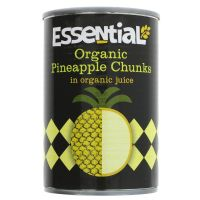 Essential Trading Organic Pineapple Chunks 400g